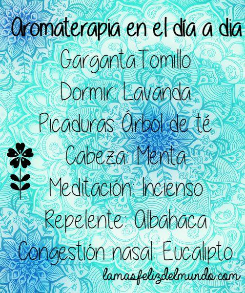 Aromaterapia en el día a día
