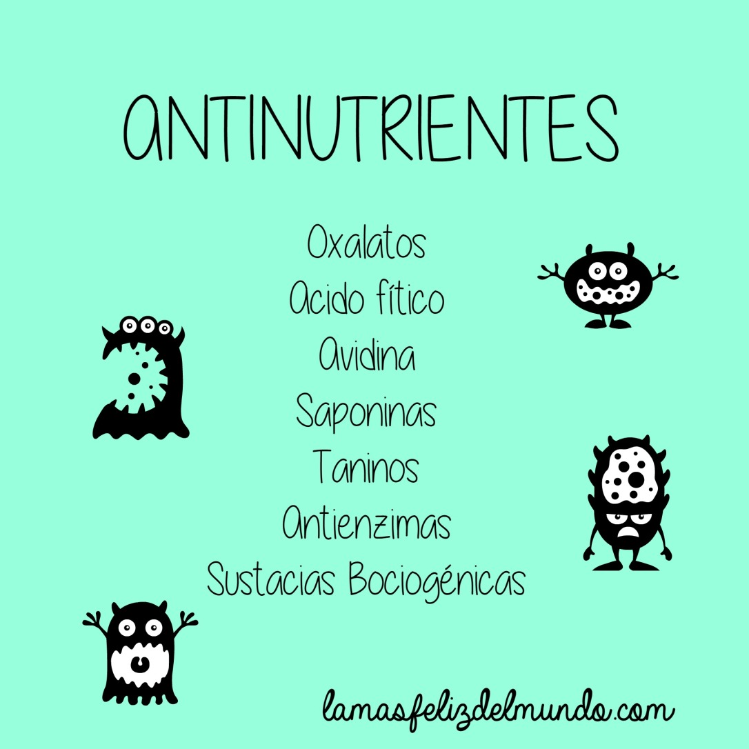 antinutrientes