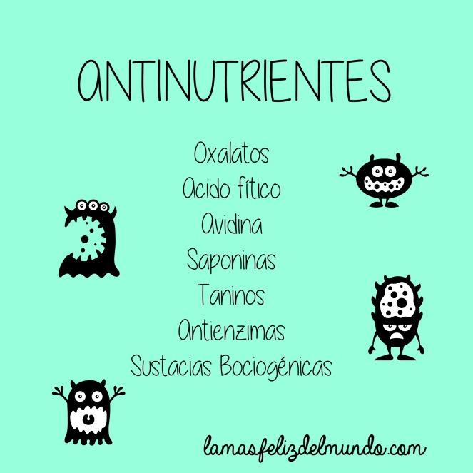 antinutrientes