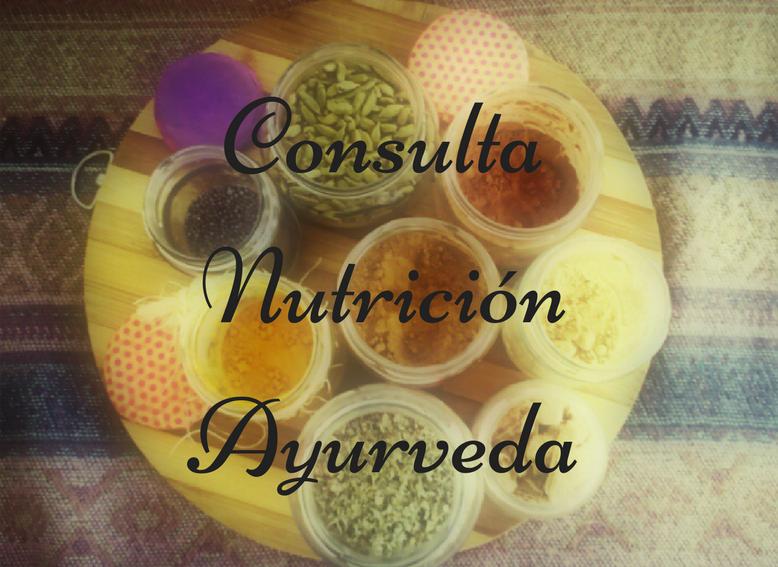 Consulta Nutrición Ayurveda