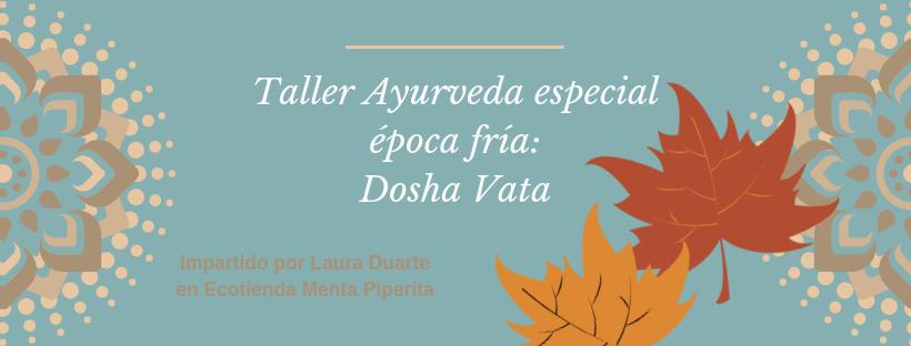 Taller Ayurveda especial época fría_Dosha Vata